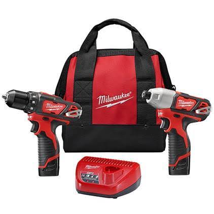 Milwaukee Lithium-Ion Cordless Impact Driver Combo Kit
