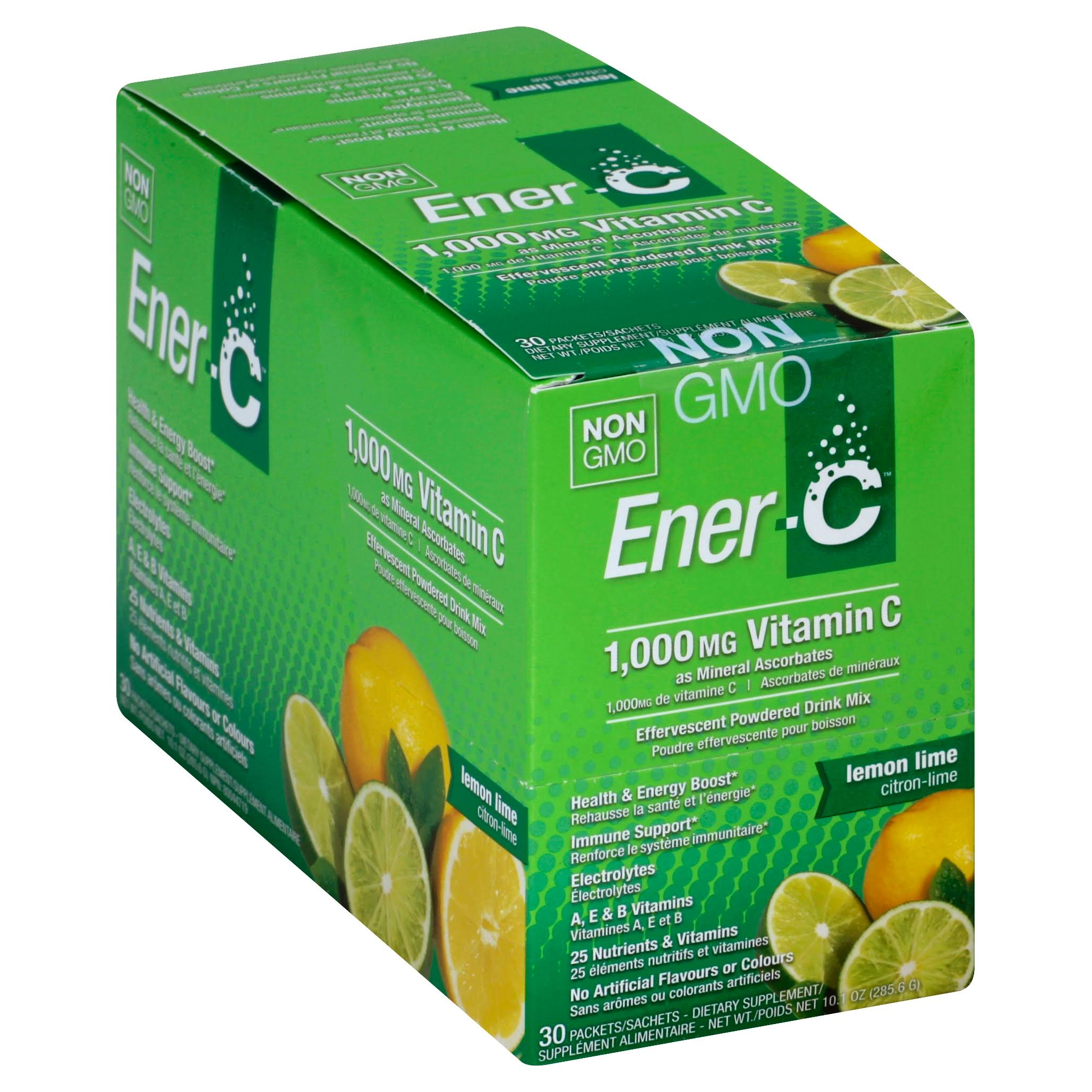 Ener-C Vitamin Drink Mix - Lemon Lime, 30 Pack