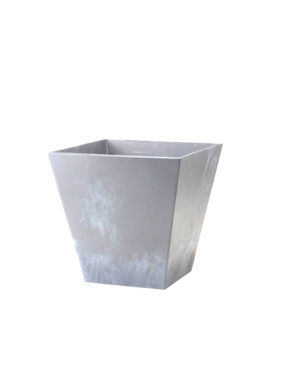 Novelty Manufacturing 243547 10 in. Square Ella Planter, Rust, Size: One Size