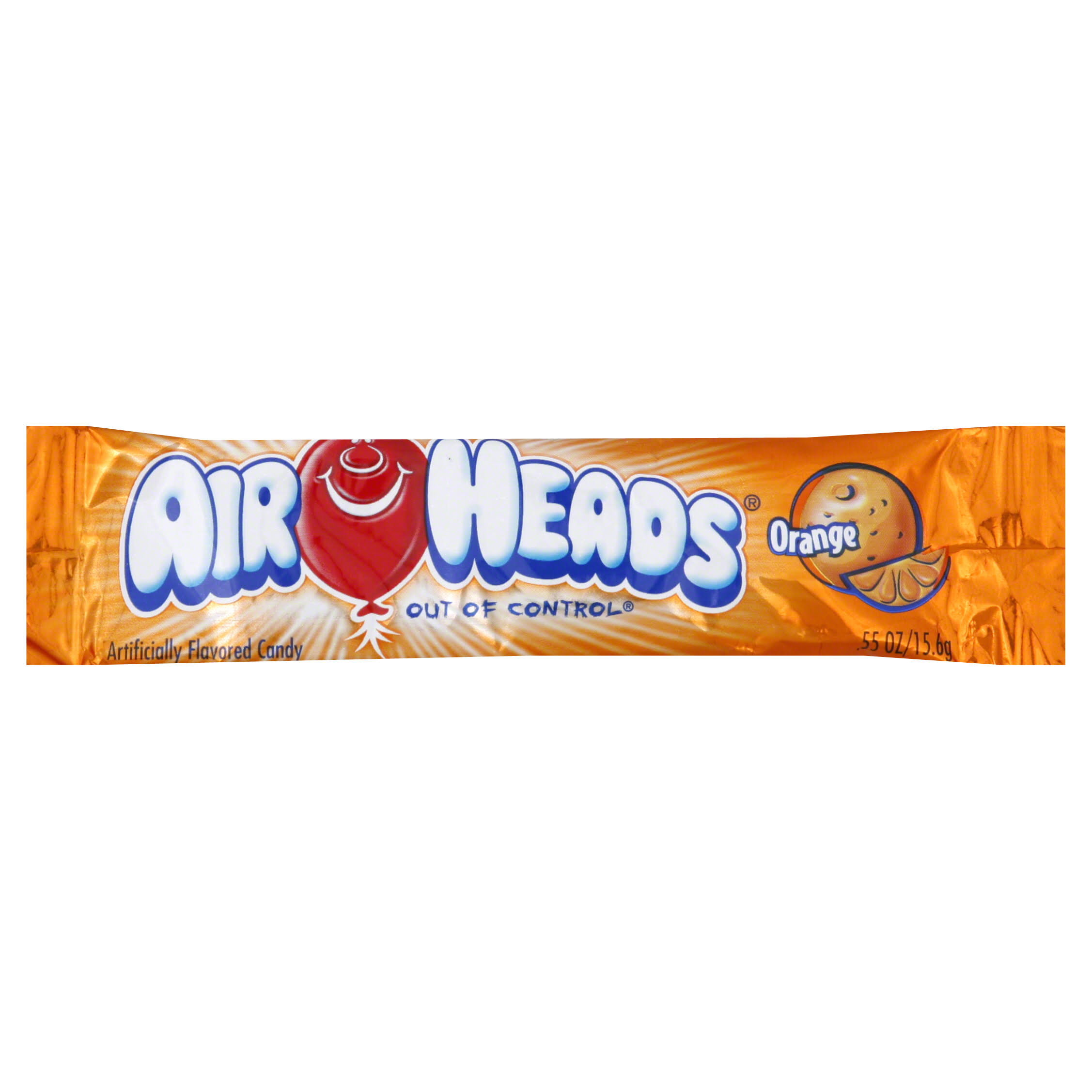 Air Heads Candy - Orange, 0.55oz