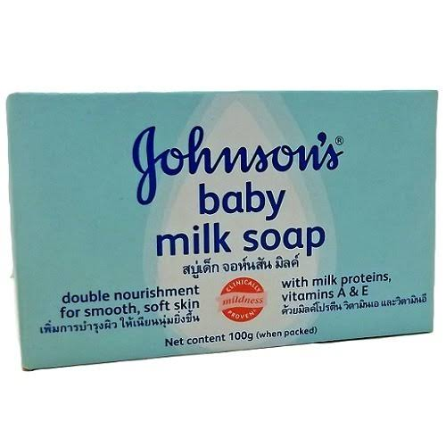 Johnson's Baby Milk Soap - 100g