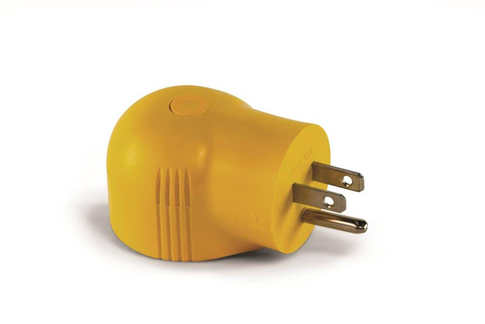 Camco Manufacturing Electrical Adapter - 15M/30F, 90deg, 125v