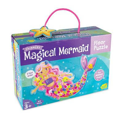 Peaceable Kingdom Mermaid Floor Puzzle