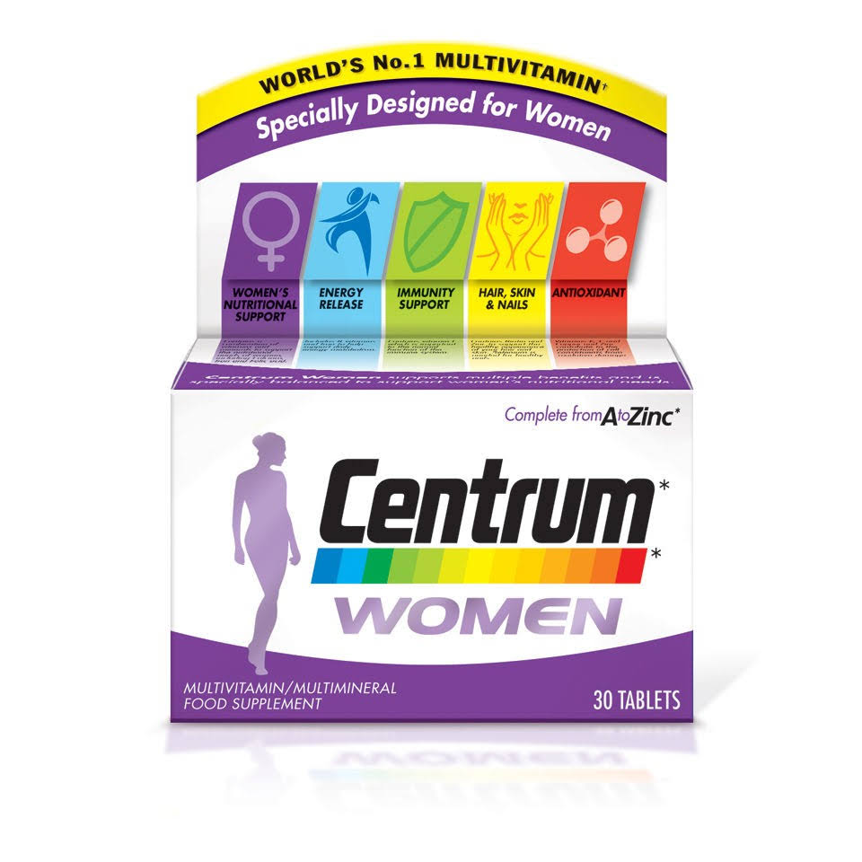 Centrum Women Multivitamin - 30ct
