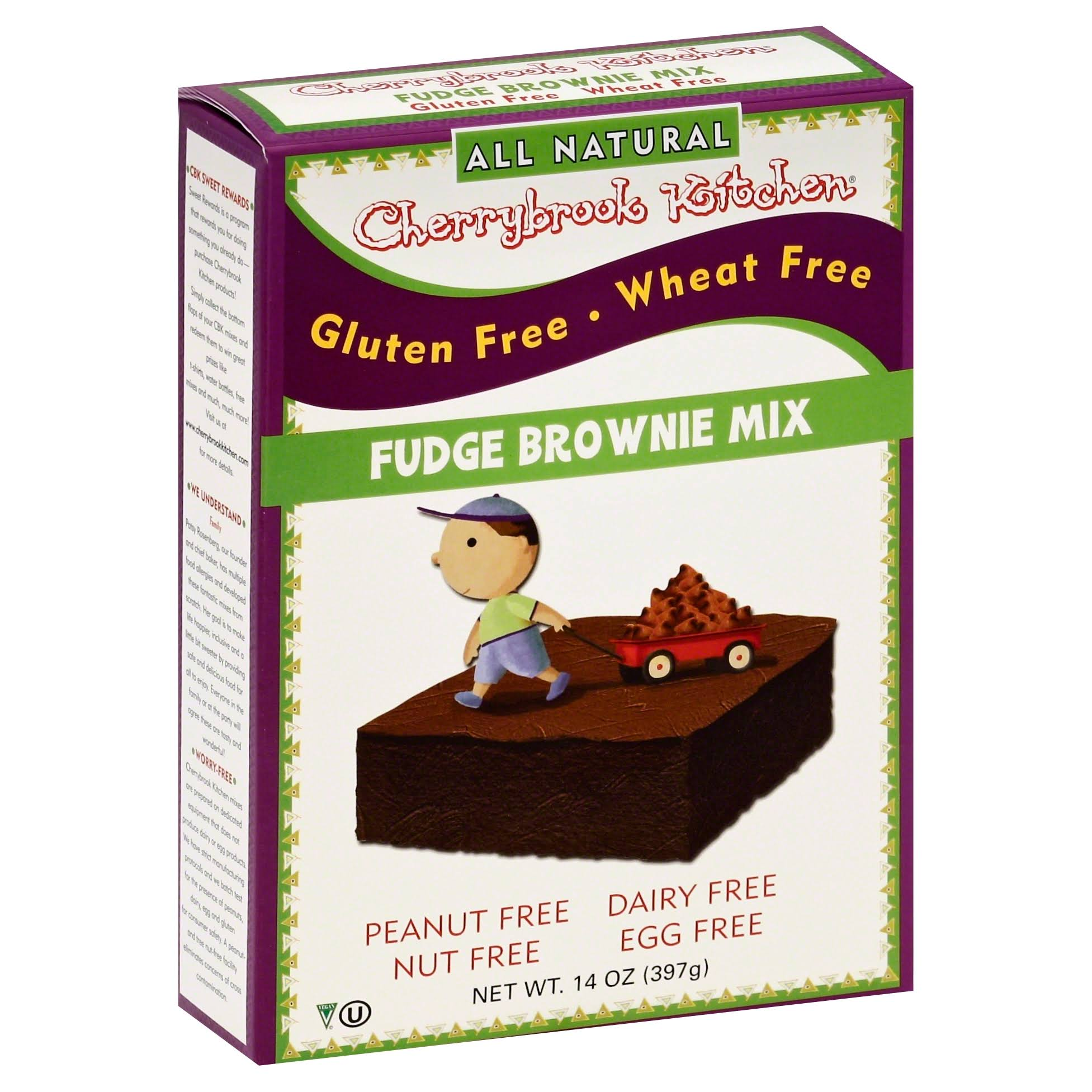 Cherrybrook Kitchen Gluten Free Dreams Fudge Brownie Mix - 397g