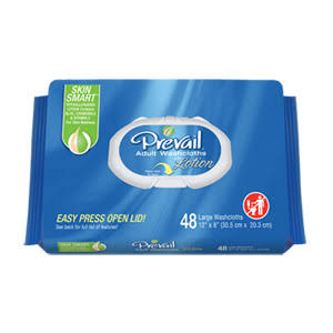 Prevail WW720 Soft Pack Washcloth - 48pcs