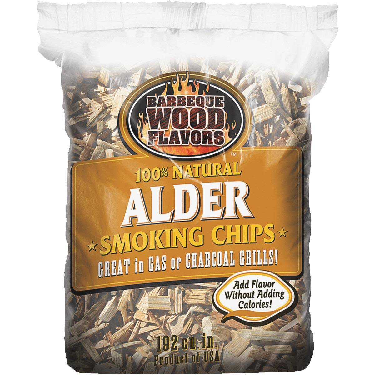 Barbeque Wood Flavors Wood Chips - 192 Cubic Inch