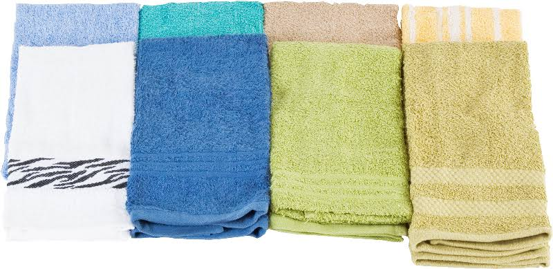 DD 24 Dozen Assorted Dyed Washcloths - Case of 288