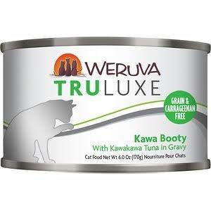Weruva's Tru Luxe Cat Food - Kawa Booty with Kawakawa Tuna in Gravy, 3oz