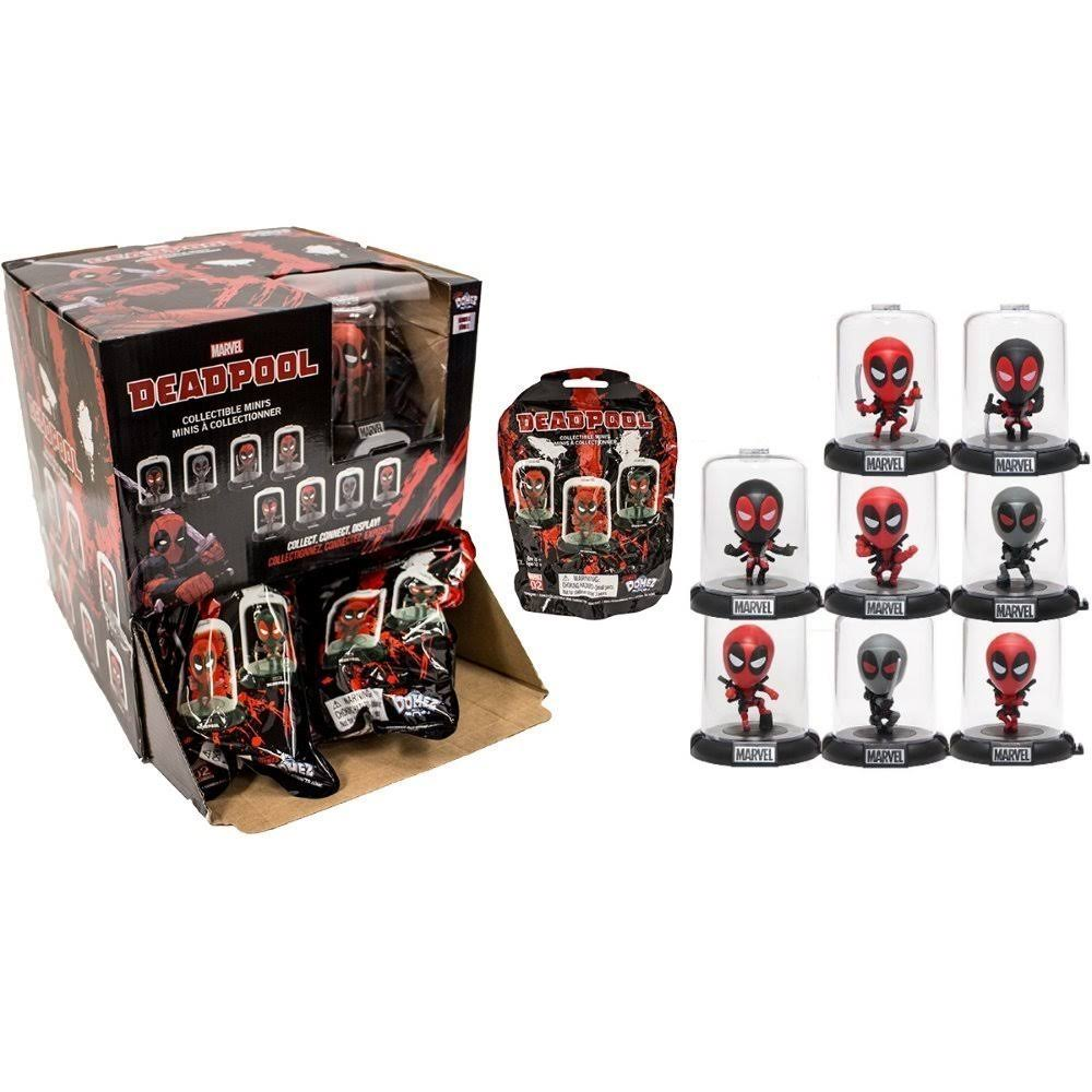 Domez Deadpool Collectible Mini Series Mystery Blind Bag Toy