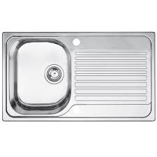 Blanco Sink Strainer Plug Uk by Blanco Toga 1 Bowl Stainless Steel Compact Sink U0026 Drainer