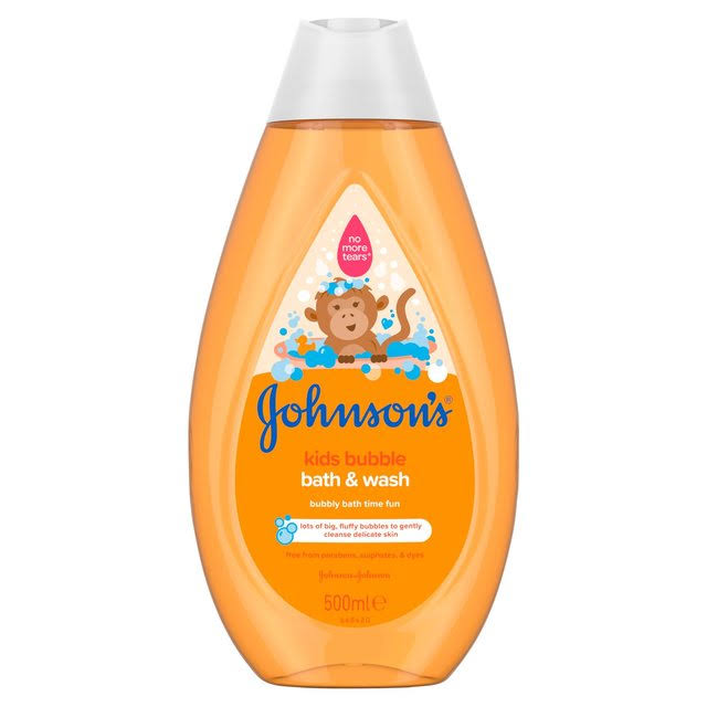 Johnson's Baby Bubble Bath & Wash 500 ml