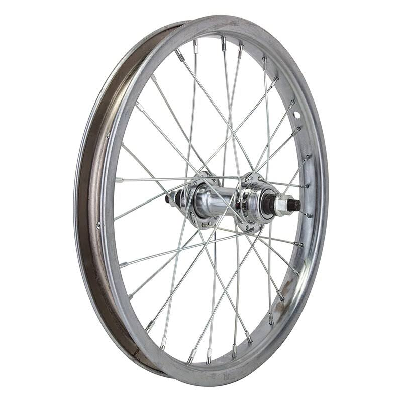 "Wheelmaster Rear Steel Bike Wheel - 16"" X 1.75"", 28 spokes"