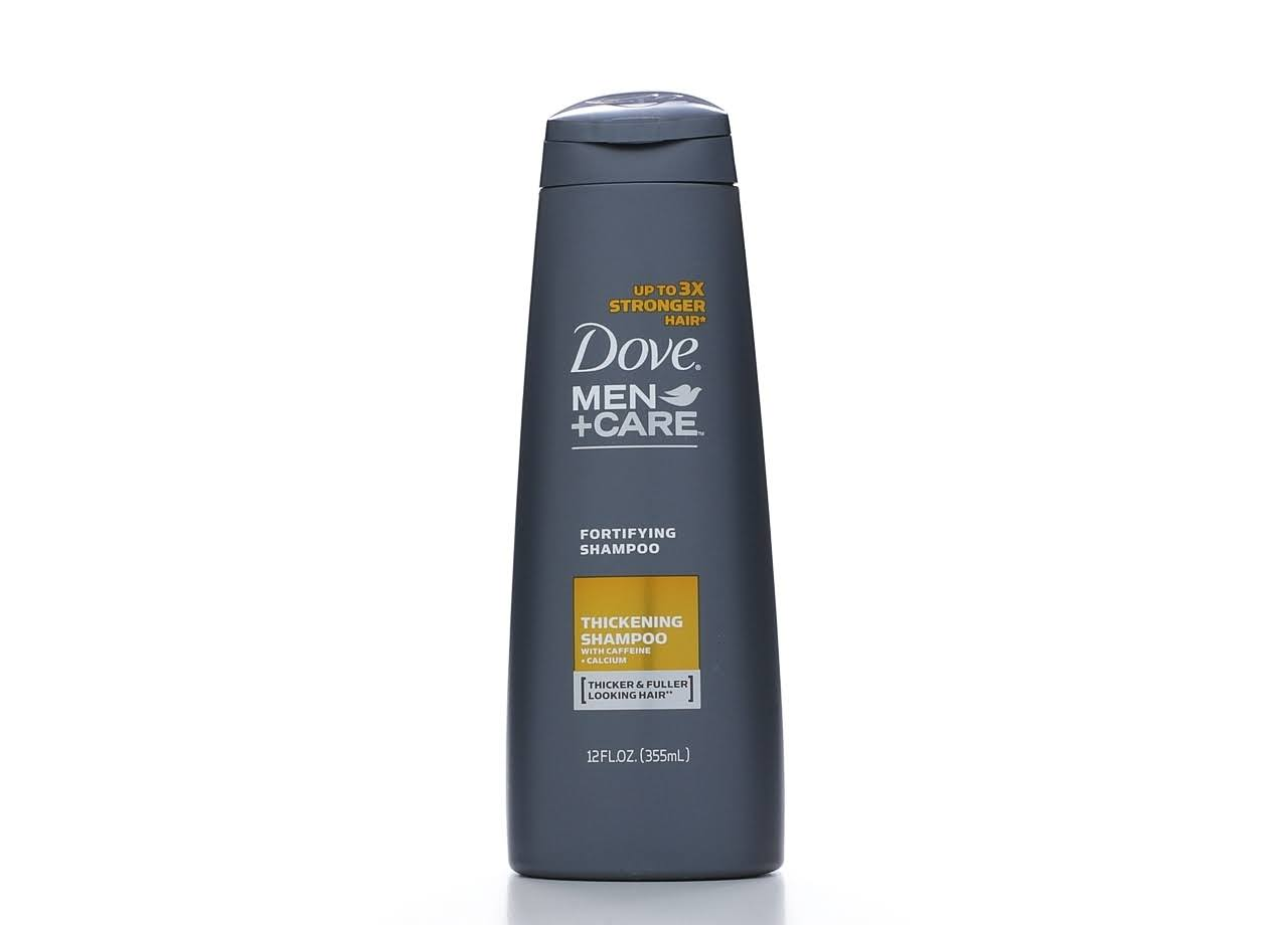 Dove Men Plus Care Thick and Strong Fortifying Shampoo Plus Conditioner - 12oz