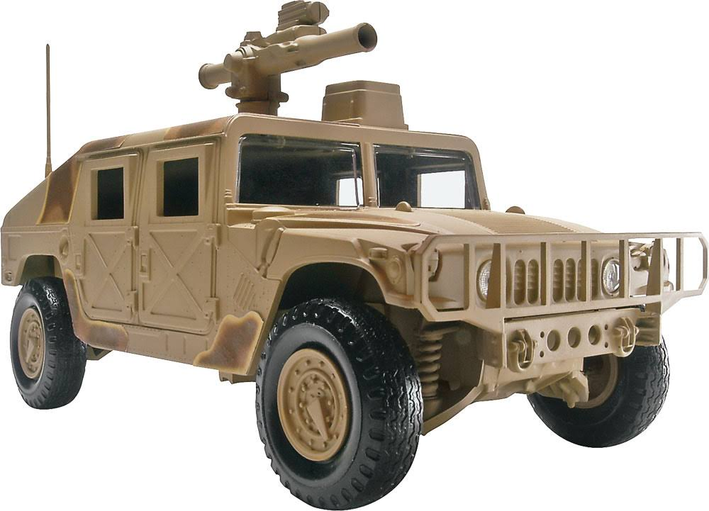Revell Snap Tite Humvee Plastic Model Kit - 1/25 scale