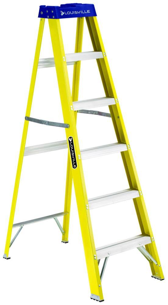 Louisville Ladder Step Ladder - Fiberglass