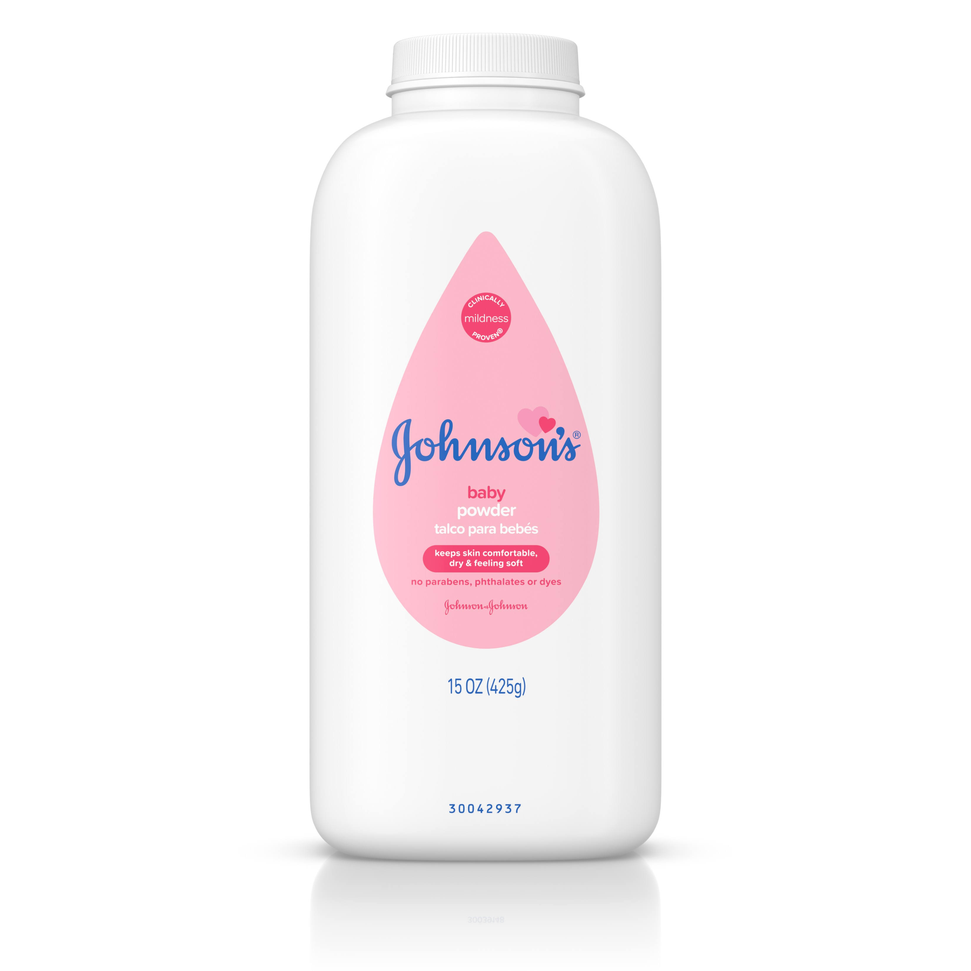 Johnson & Johnson Silky Soft Skin Baby Powder - 15 oz