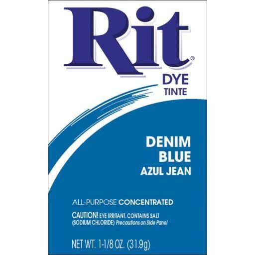 Rit All Purpose Powder Dye - Denim Blue