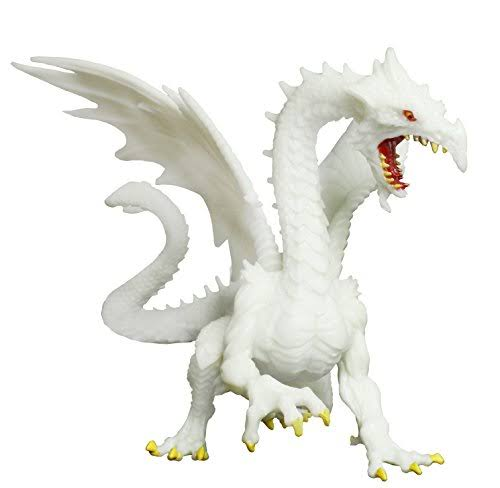 Safari Ltd Glow In Dark Snow Dragon Figure