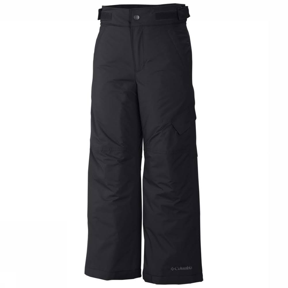 Columbia Big Boys' Ice Slope II Pant - Black, Small