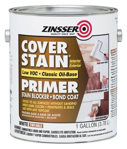 Zinsser Low VOC Cover Stain Oil-Base Primer