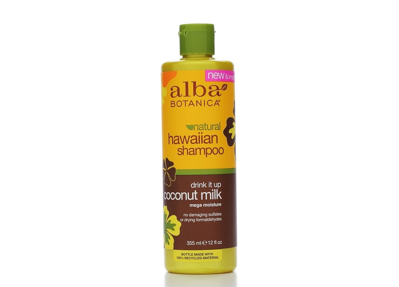 Alba Botanica Hawaiian Shampoo - Coconut Milk, 355ml