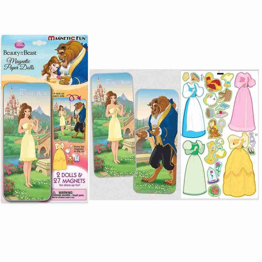 Disney Princess Magnetic Paper Doll - Beauty and the Beast