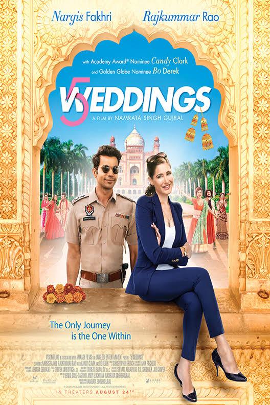 5 Weddings (2018) 720p Proper HDRip Hindi (HQ Line Audio) ESubs- 1.4GB