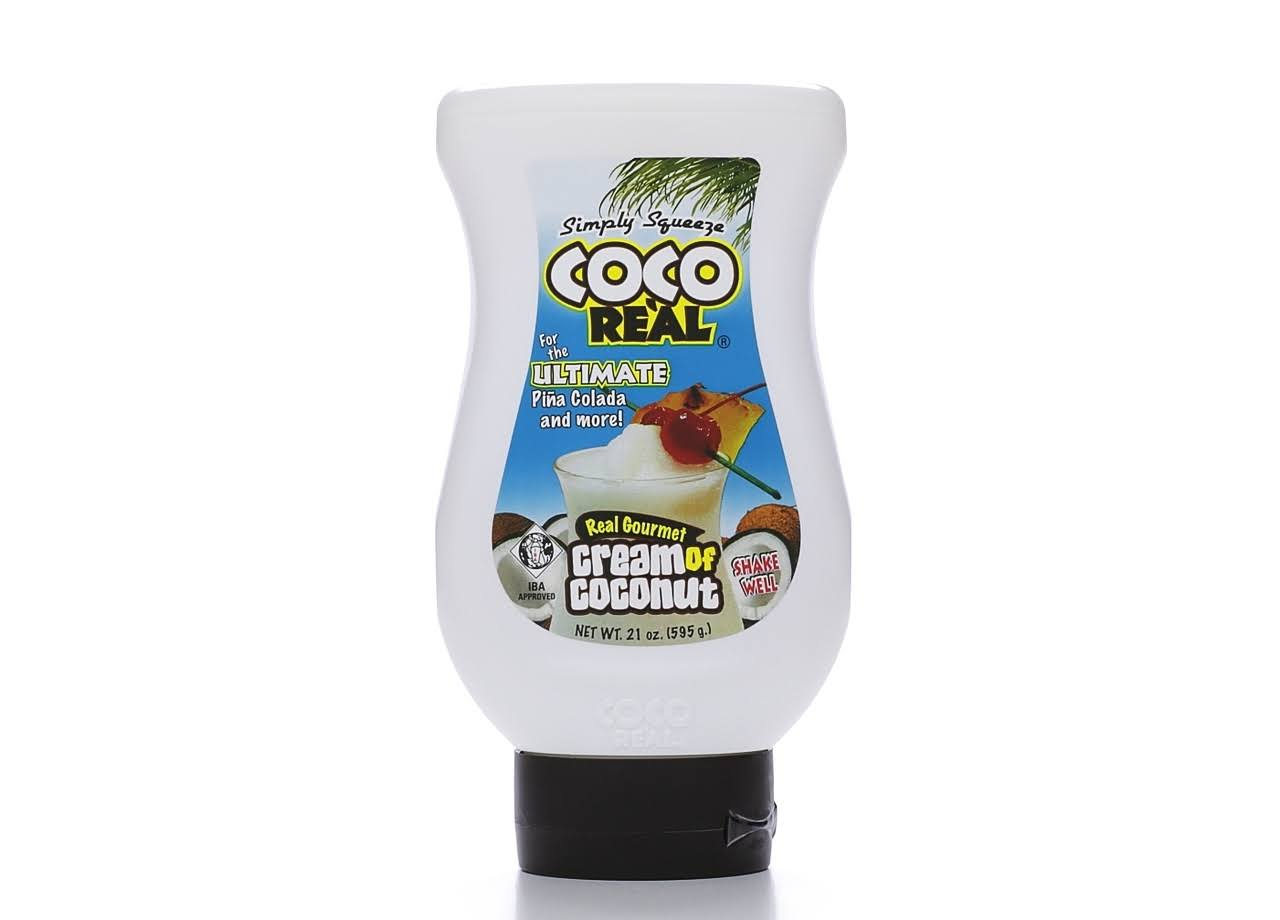 Coco Re'al Real Gourmet - Cream of Coconut, 22 oz