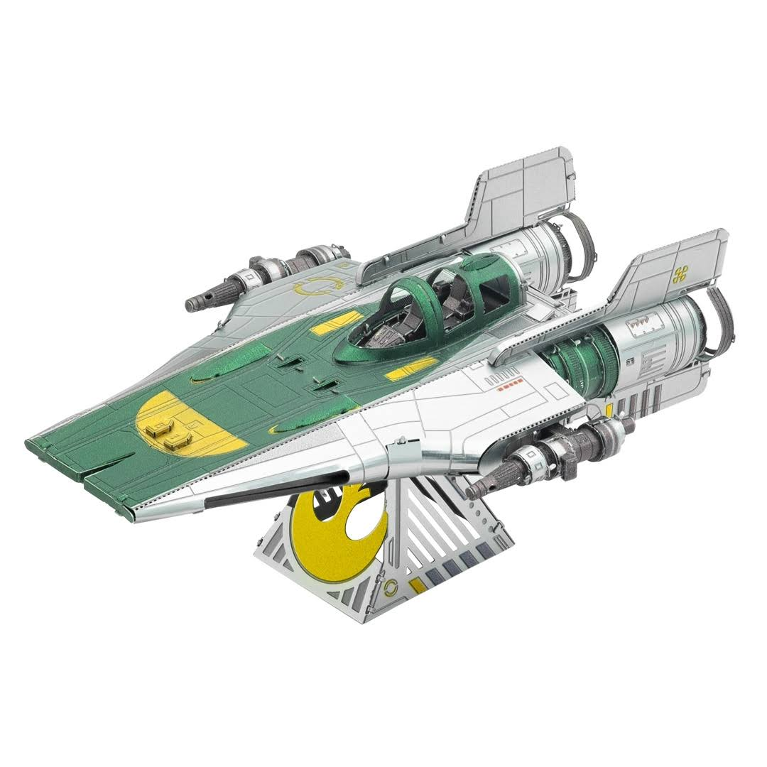 Metal Earth Resistance A-Wing Fighter 3D Model Kit