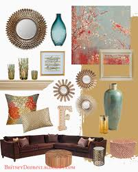 Coral Colored Decorative Items by Living Room Style Ideas Home Interior Mood Board Home Decor Tan