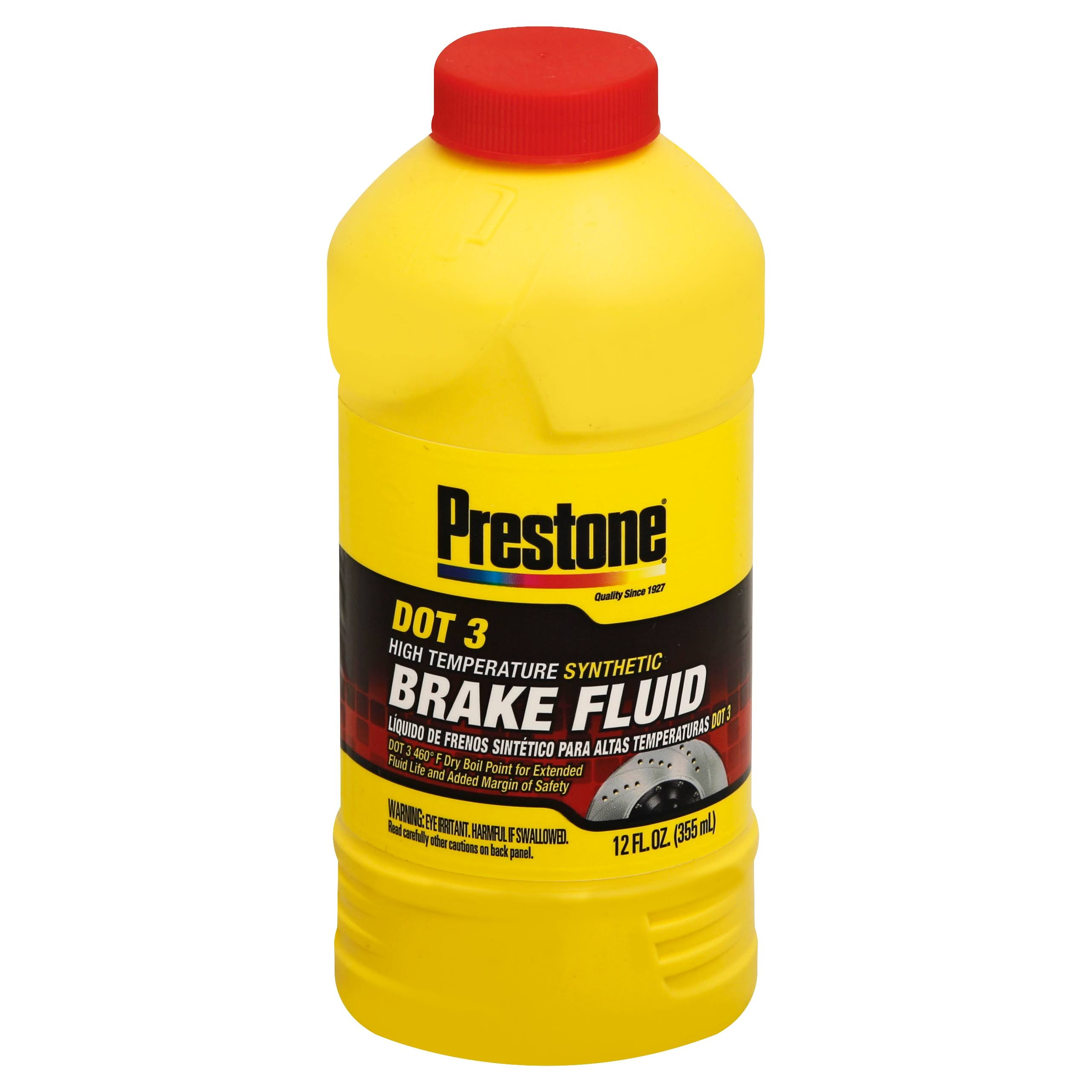 Prestone Dot 3 Brake Fluid - 355ml