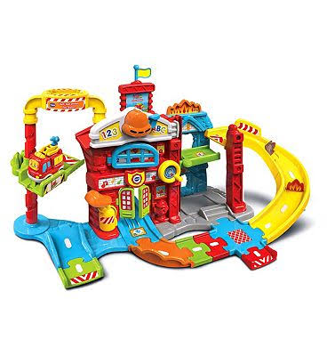 VTech Toot Toot Drivers Fire Station Playset