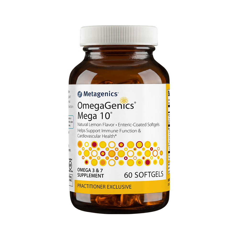 Metagenics Omegagenics Mega 10 Omega - 60 Softgels