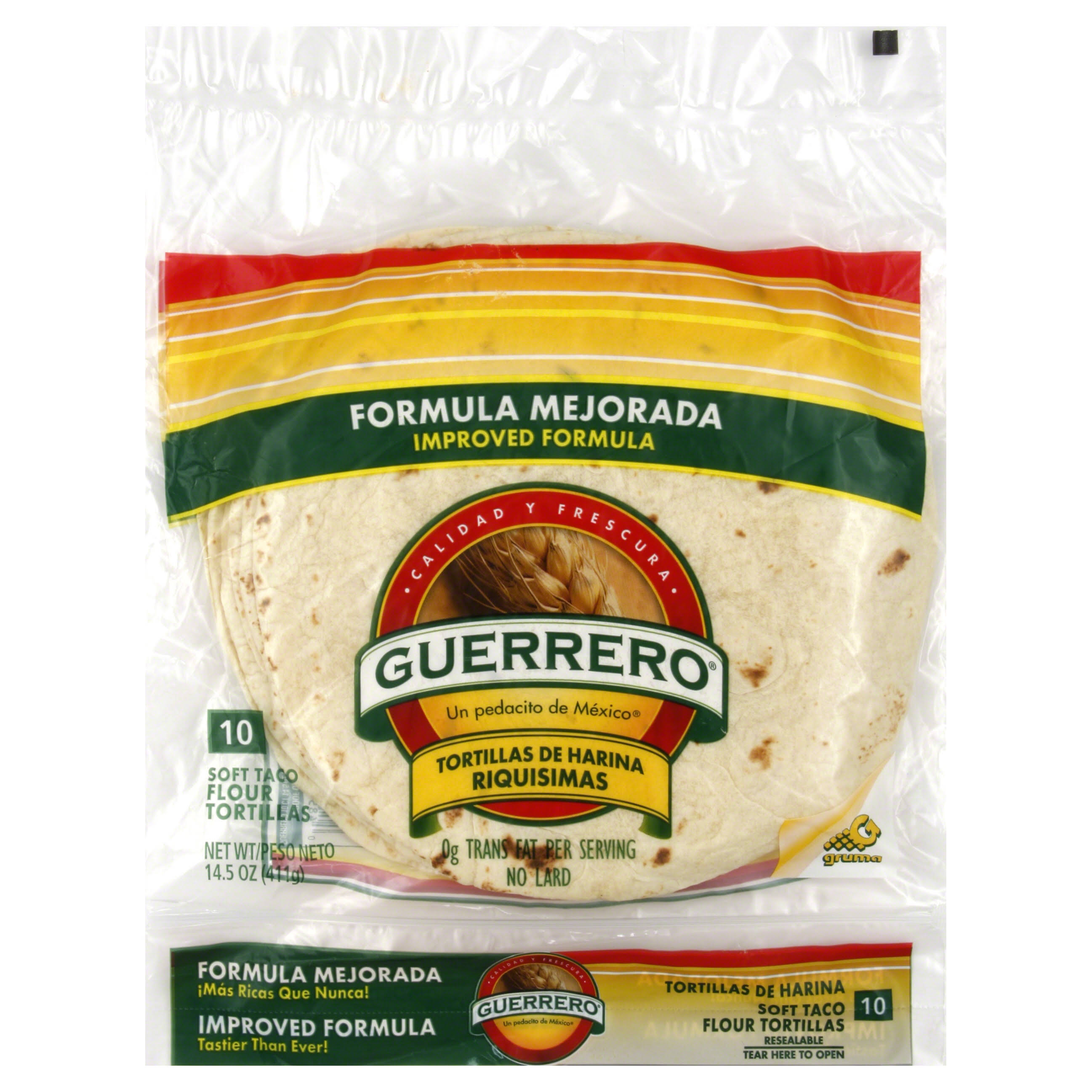 Guerrero Flour Tortillas - Soft Taco, 14.5oz