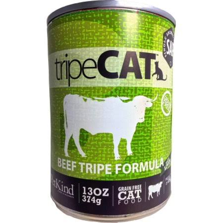 PetKind Tripe Cat Grain Free Cat Food - Beef Tripe, 13oz