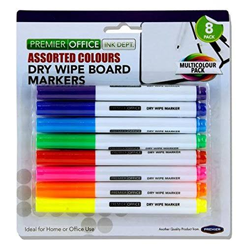 Premier Depot Whiteboard Markers - 8 Assorted