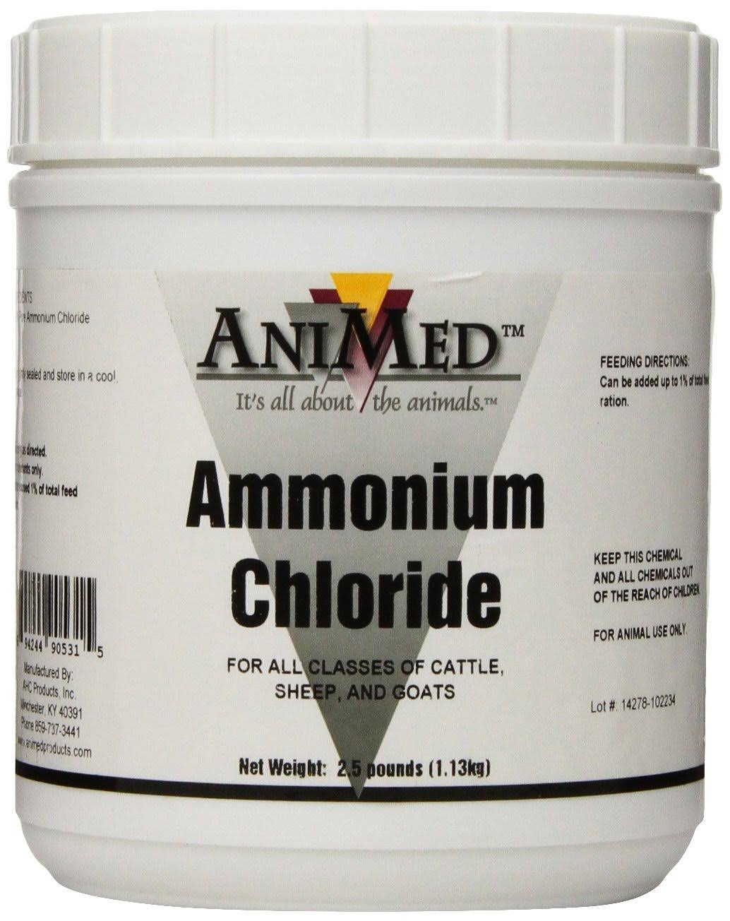 AniMed Ammonium Chloride Powder - 2.5lbs
