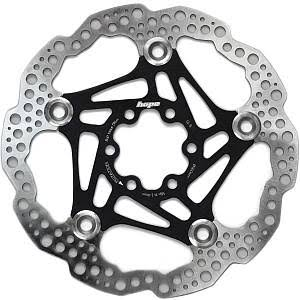 Hope Floating Disc Rotor - Black, 160mm, 6 Bolt