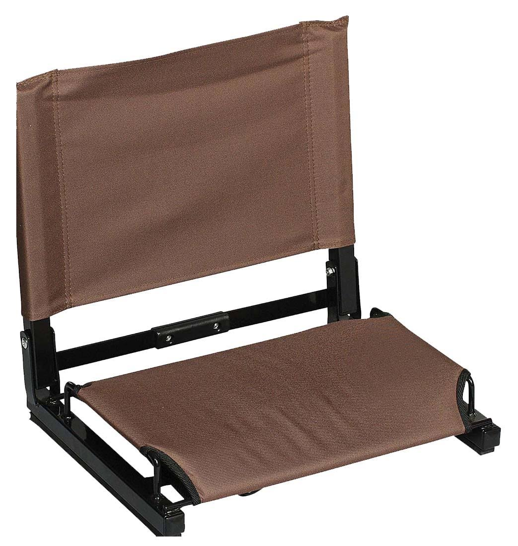 The Patented Stadium Chair - Blank Brown