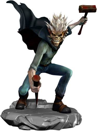 Iron Maiden Vampire Hunter Eddie Vinyl Figure