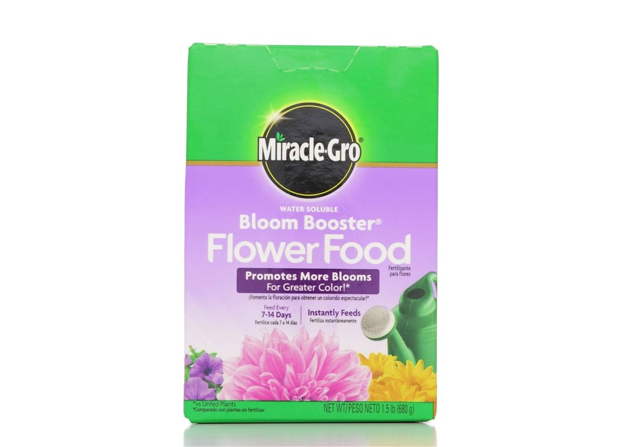 Miracle-Gro Bloom Booster Flower Food, Water Soluble - 1.5 lb box