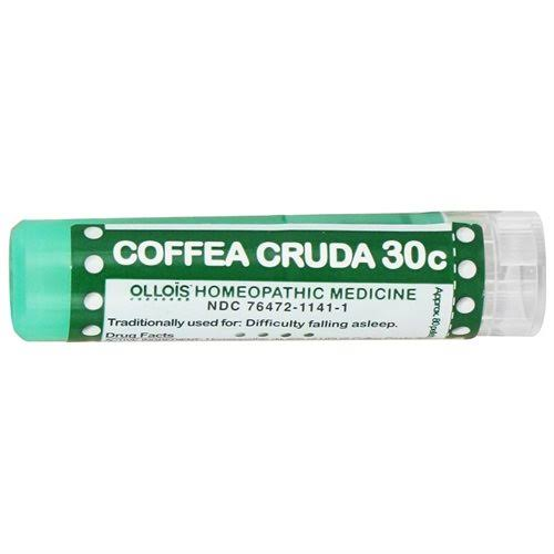 Ollois 30C Pellets Homoeopathic Medicines - Coffea Cruda, 80 Count
