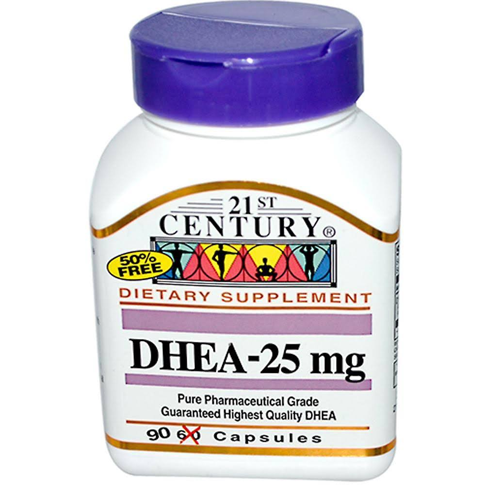 21st Century DHEA Dietary Supplement - 90 Capsules