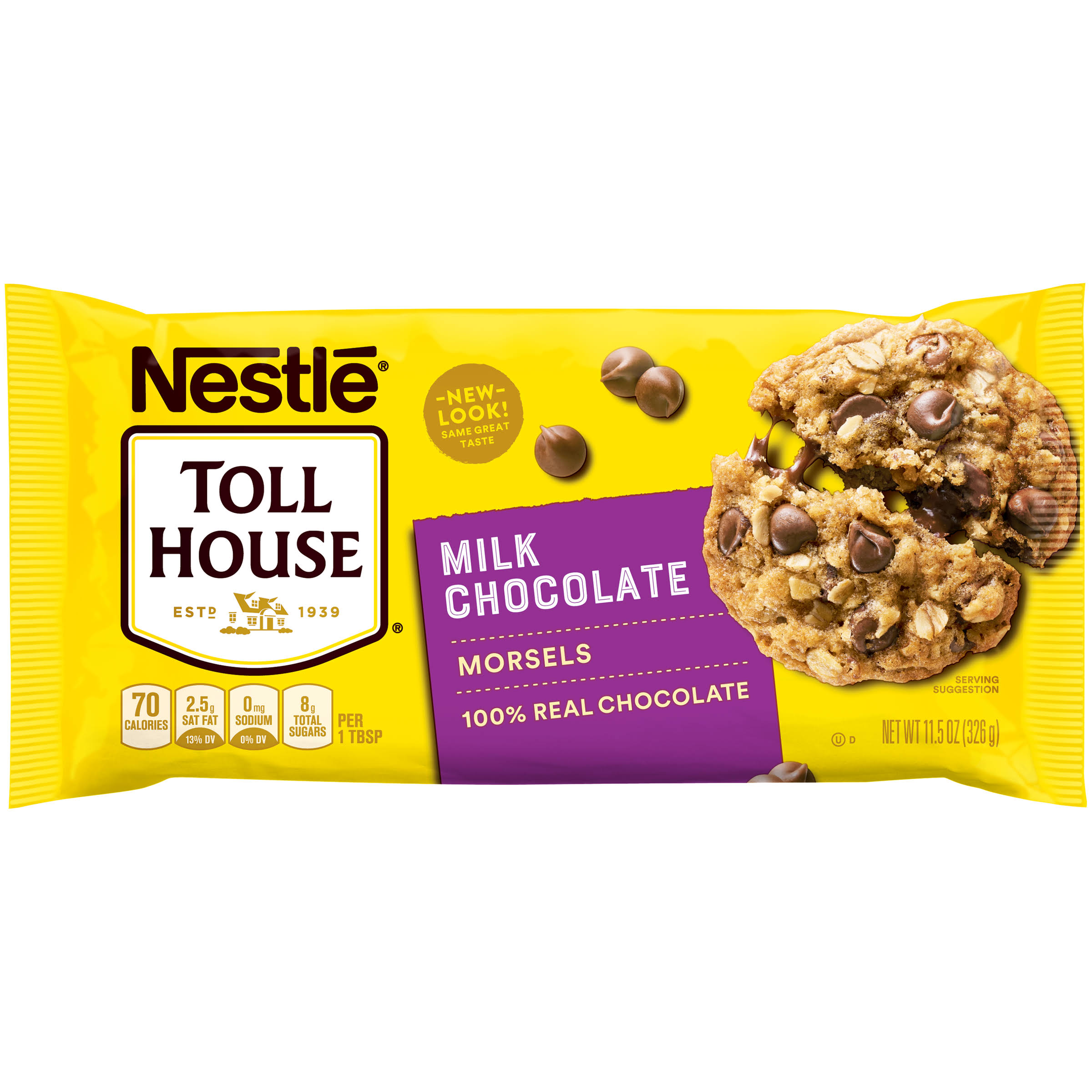 Nestle Toll House Real Milk Chocolate Morsels - 11.5oz