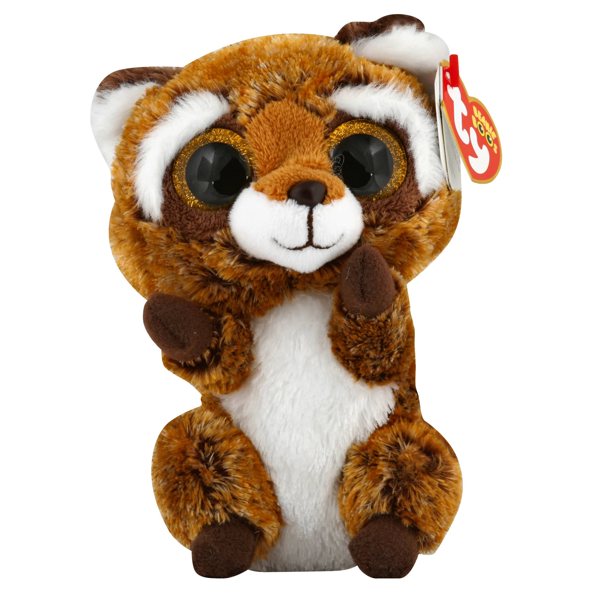 TY Beanie Boos - RUSTY the Raccoon (Glitter Eyes) (Regular Size - 6 inch)