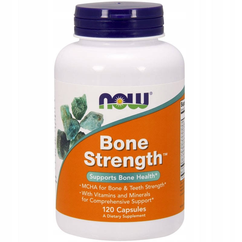 Now Foods Bone Strength - 120 Caps