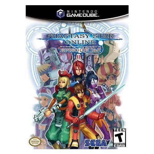 Phantasy Star Online Episode 1 and 2 - Nintendo GameCube