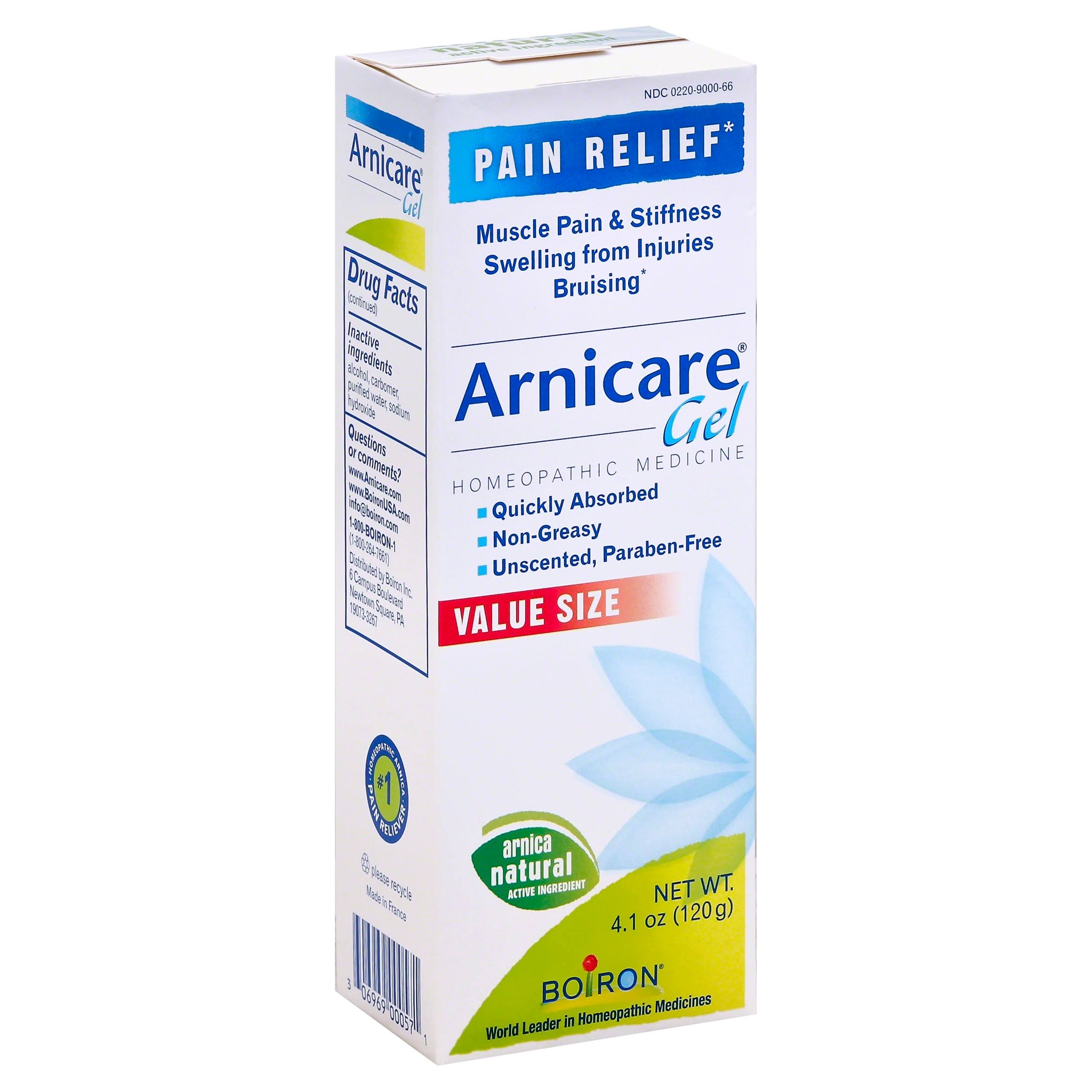 Boiron Arnicare Pain Relief Gel - Unscented, 4.1oz