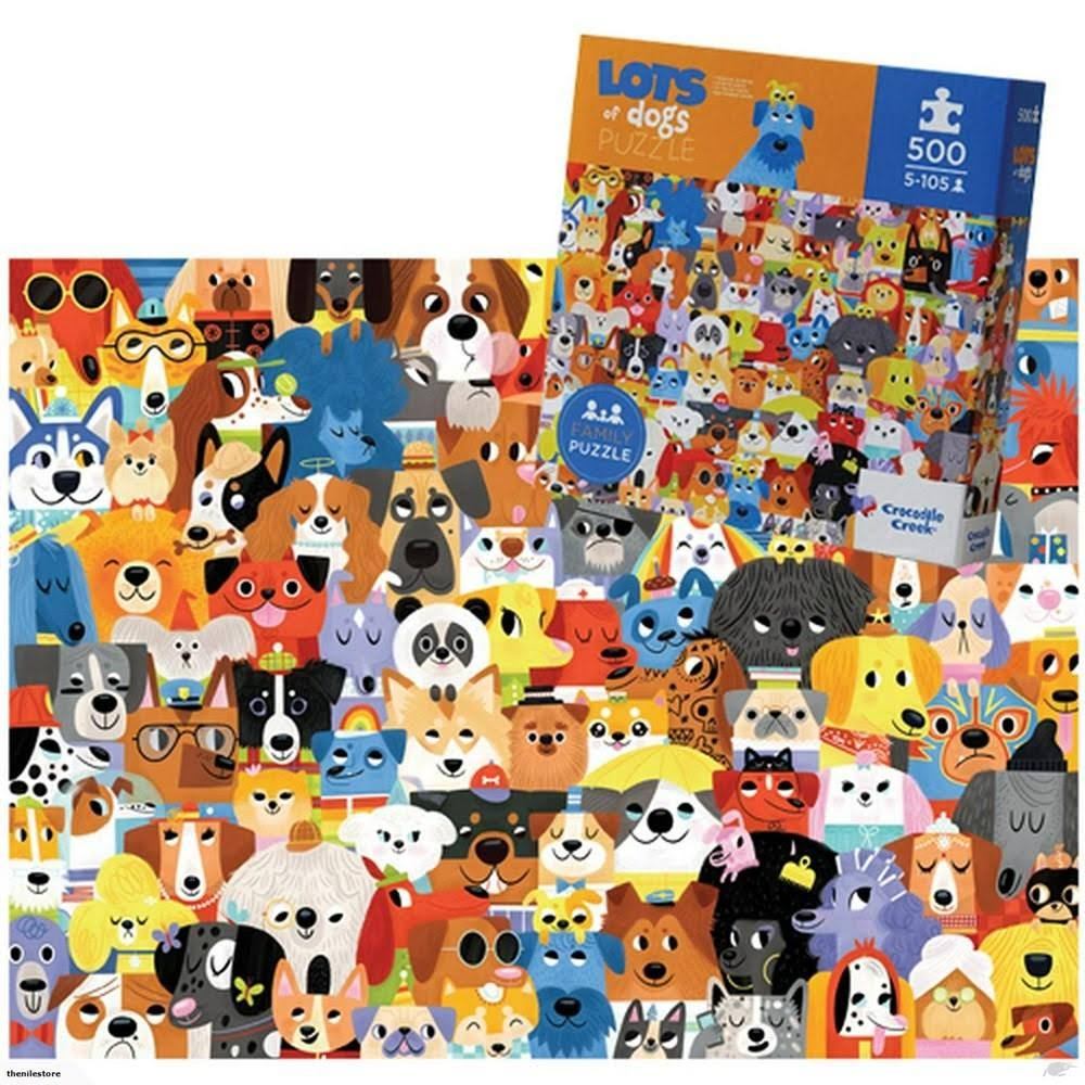 Crocodile Creek Lots of Dogs Puzzle - 500pcs